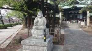 荏原神社 恵比寿神