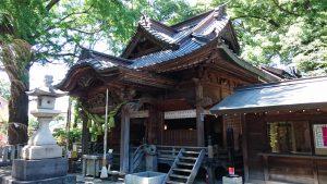 田無神社 社殿