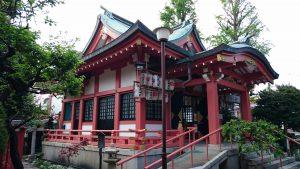 松原菅原神社 拝殿