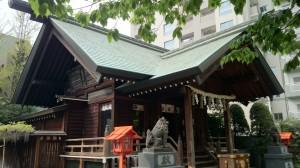 蔵前神社 拝殿