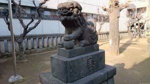北野神社(青葉台) 狛犬 (2)