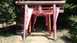 中山神社 正一位稲荷神社 鳥居