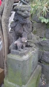 元神明宮 狛犬 (1)