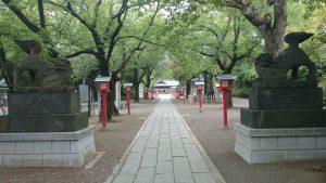 鷲宮神社 境内参道