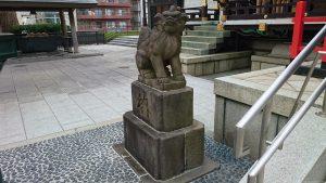 十二社熊野神社 狛犬 吽