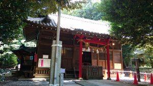 中山神社 拝殿