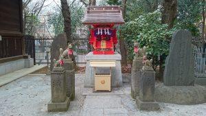 十二社熊野神社 胡桃下稲荷神社