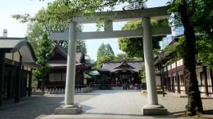 十二社熊野神社 鳥居