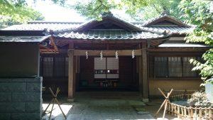 田無神社 参集殿