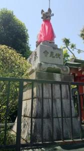 東伏見稲荷神社 眷属狐 (2)