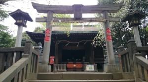 諏方神社 二の鳥居