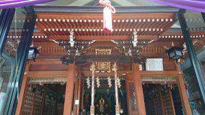 元神明宮 拝殿