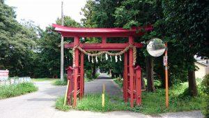 中山神社 一の鳥居
