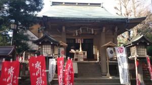 上目黒氷川神社(大橋氷川神社)
