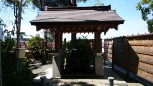多摩川浅間神社 手水舎