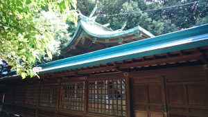 中山神社 本殿