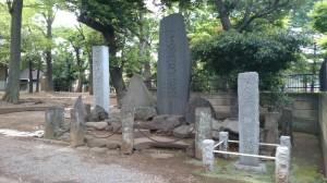 碑文谷八幡宮 石碑群