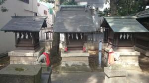 荏原神社 八幡宮・稲荷神社・熊野神社