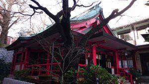 三田春日神社 拝殿