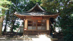 中山神社 神楽殿