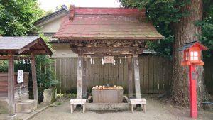 鷲宮神社 手水舎