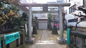 北野神社(青葉台) 鳥居