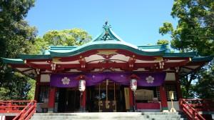 多摩川浅間神社 社殿