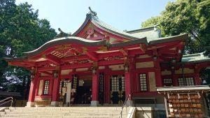 世田谷八幡宮 拝殿