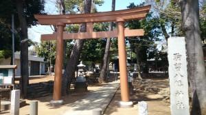駒留八幡神社 鳥居