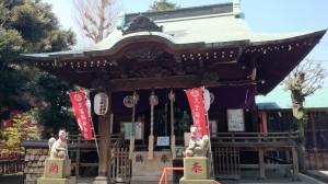 久富稲荷神社 拝殿