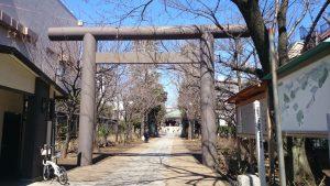 亀戸香取神社 鳥居