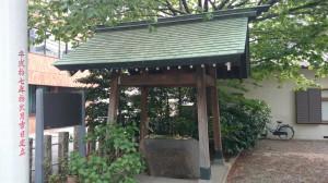 蔵前神社 手水舎