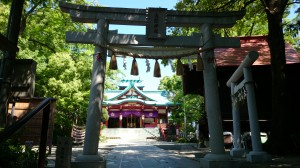 多摩川浅間神社 四の鳥居