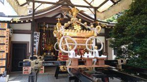 鳥越神社 御本社宮神輿(千貫神輿)