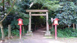 鷲宮神社 鹿島神社・神明神社 鳥居