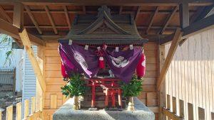 上目黒氷川神社(旧大橋氷川神社) 氷川稲荷神社 社殿