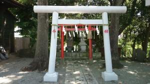 多摩川浅間神社 境内社 鳥居