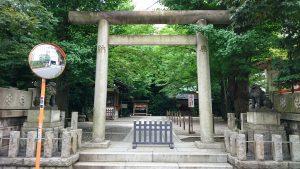 第六天榊神社 西参道鳥居