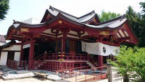 素盞雄神社 社殿