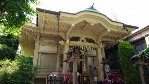 矢先稲荷神社 拝殿