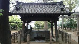 諏方神社 手水舎