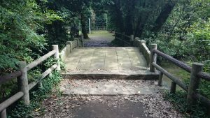 氷川女體神社磐船祭祭祀遺跡 神橋