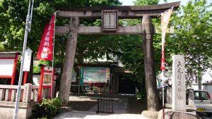 矢先稲荷神社 鳥居