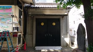 矢先稲荷神社 神輿庫