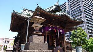 胡録神社 拝殿