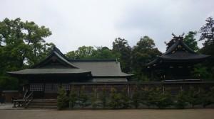 鷲宮神社 社殿全景
