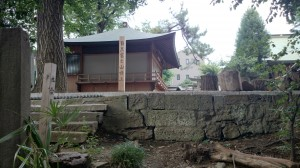 上目黒氷川神社(旧大橋氷川神社)  目黒富士 (4)