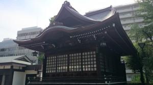十二社熊野神社 神楽殿