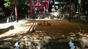 田無神社 土俵