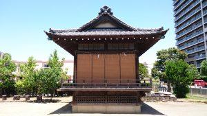 汐入胡録神社 神楽殿